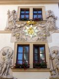 Ornate Building Facade, Prague Royalty Free Stock Photography