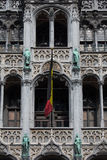 Ornate building of Grand Place in Brussels Royalty Free Stock Photo