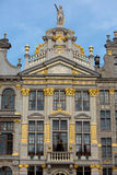 Ornate building of Grand Place in Brussels Stock Image