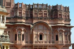 Ornate Building, Jodhpur , Rajasthan, India Royalty Free Stock Image