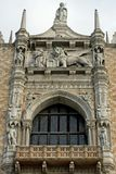 Ornate Building, Venice, Italy Royalty Free Stock Photos