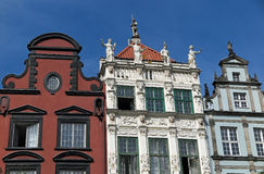 Ornate buildings Stock Image