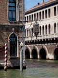 Ornate canal light Stock Photography
