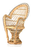 Ornate Cane Chair Stock Image