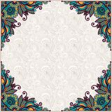 Ornate card announcement Royalty Free Stock Photo