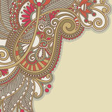 Ornate card announcement Royalty Free Stock Photography