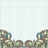 Ornate card announcement Stock Photography