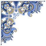 Ornate card announcement, frame element Stock Images