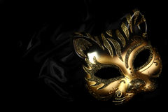 Ornate carnival mask Stock Photos