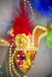Ornate carnival mask. Ornate carnival venetian mask in the shop Stock Photography