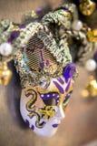 Ornate carnival mask. Ornate carnival venetian mask in the shop Stock Image