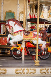 Ornate carousel or merry-go-round Royalty Free Stock Images