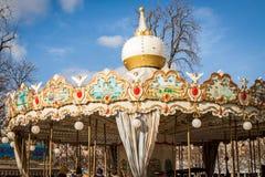 Ornate carousel or merry-go-round Royalty Free Stock Photos