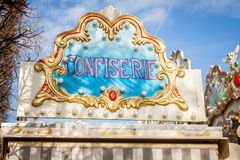 Ornate carousel or merry-go-round Stock Image