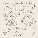 Ornate cartouche Stock Images