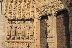 Ornate cathedral doorway Royalty Free Stock Photography