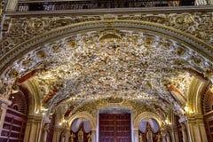 Free Ornate Ceiling Door Santo Domingo De Guzman Church Oaxaca Mexico Stock Photo - 154750020