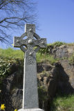Ornate Celtic cross - Stirling, Scotland Royalty Free Stock Photos