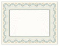 Ornate, Certificate-Diploma design with decorative elements. vector illustration