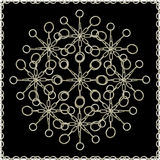 Ornate Chained Atrwork Royalty Free Stock Images