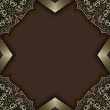 Ornate chic design background royalty free stock image