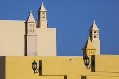 Ornate Chimneys in the Algarve Stock Photo