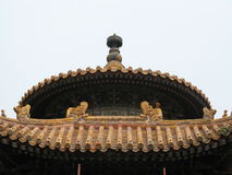 Ornate Chinese roof Stock Image