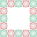 Ornate Christmas Border Royalty Free Stock Photo