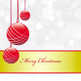 Ornate Christmas Card Royalty Free Stock Image