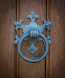 Ornate Church Door Knocker Royalty Free Stock Photography