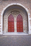 Ornate church doorway Royalty Free Stock Images