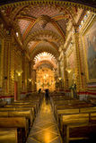 Ornate church interior Stock Photo