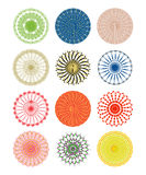 Ornate circular patterns Royalty Free Stock Photos
