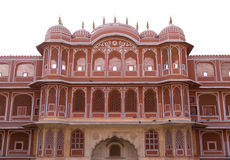 The ornate City Palace, Jaipur,India. The ornate City Palace,built of red sandstone, Jaipur,India Stock Photography