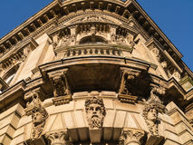 Ornate classical-style architecture Stock Photography