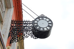 Ornate Clock With No Hands Royalty Free Stock Images
