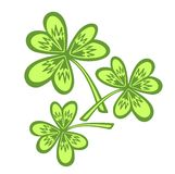 Ornate clover Stock Photos