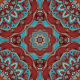 Ornate colorful pattern. Royalty Free Stock Photography