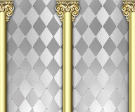 Ornate column background Royalty Free Stock Image
