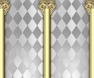 Ornate column background Royalty Free Stock Image