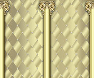 Ornate column background Royalty Free Stock Images