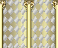 Ornate column background Stock Image