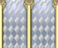 Ornate column background Stock Images