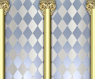 Ornate column background Royalty Free Stock Photos