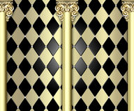 Ornate column background Royalty Free Stock Photography