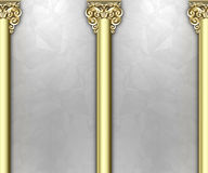 Ornate column background Stock Photos