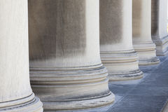 Ornate columns Royalty Free Stock Image