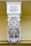 Ornate corbel on a building wall Royalty Free Stock Image