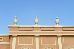 Ornate cornice Stock Photography