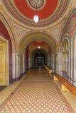 Ornate corridor in Chernivtsi National University in Chernivtsi, Ukraine Royalty Free Stock Photography